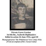 Gawn Gordon