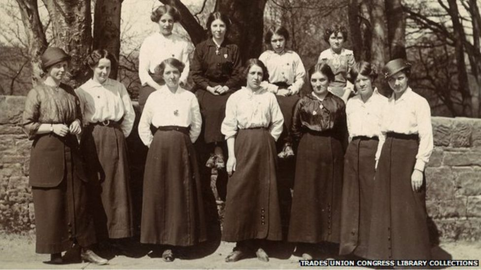 1915 Cleator female Mill workers fought for rights