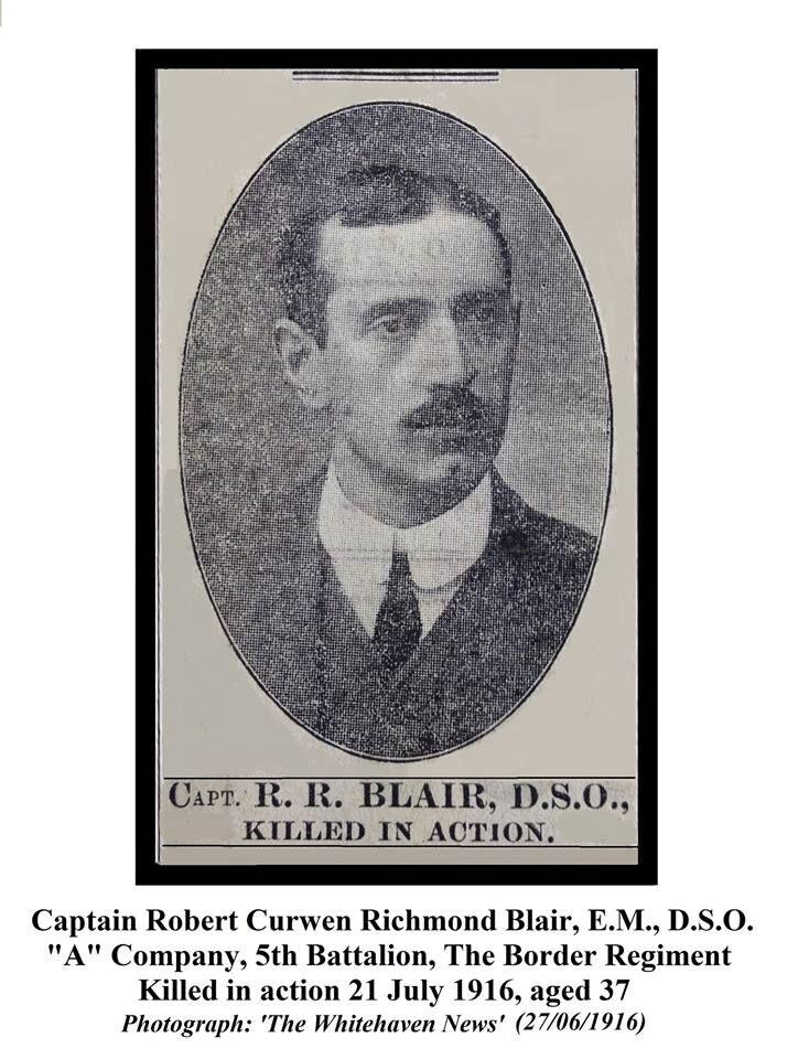 Robert Curwen R Blair