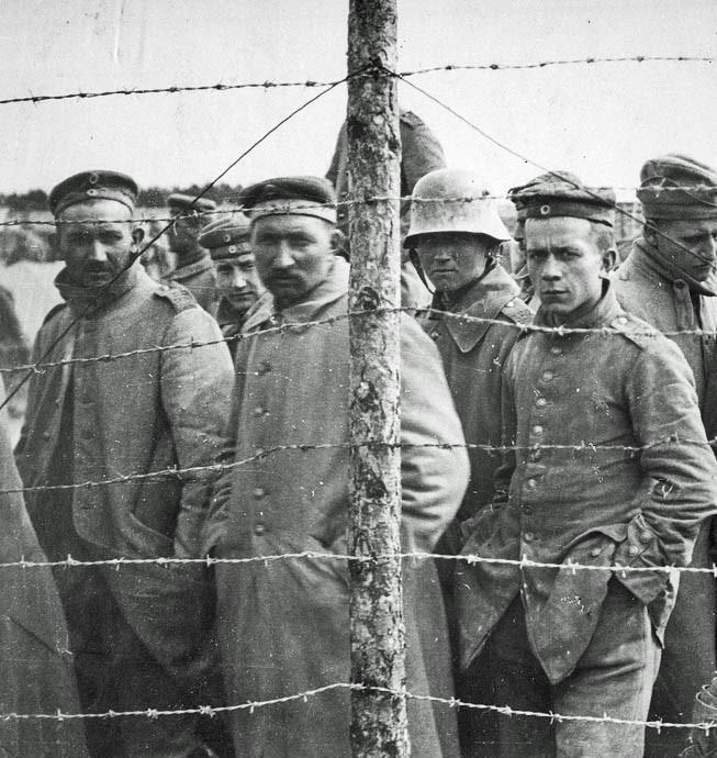 Recalling Rowrah Camp  in the Great War - German prisoners of War image